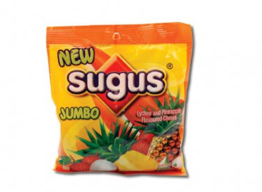 Sugus Jumbo Lychee & Pineapple Flavoured Chewy Candy
