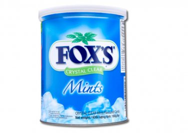 Fox's Crystal Clear Candy Mint Flavour