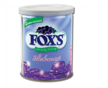 Fox's Crystal Clear Candy Blackcurrant Flavour