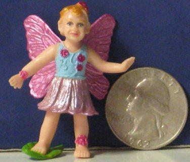 "Safari Ltd. Fairy PVC Figure Daisy Mythical Realms Fantasy World 1 3/4"" Faerie"