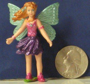 "Safari Ltd. Fairy PVC Figure Violet Mythical Realms Fantasy World 2 1/4"" Faerie"