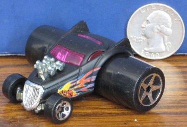 """Hot Wheels Fatbax Duplified Black Funny Car - 2"""" x 2 1/2"""" - 2004"""