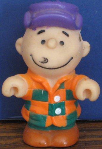 "Peanuts Charlie Brown PVC 3"" Figure / Cake Topper - 1990s Vintage"