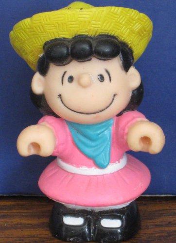 "Peanuts Lucy PVC 3"" Figure / Cake Topper - 1990s Vintage"