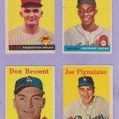 """1958 TOPPS #373 JOE PIGNATANO   """"FREE SHIPPING"""""""
