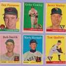 """1958 TOPPS #453 TOM QUALTERS  """"FREE SHIPPING"""""""