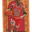"""1995-96 FLAIR """"HARDWOOD"""" #4 MICHAEL JORDAN """"FREE SHIPPING"""""""