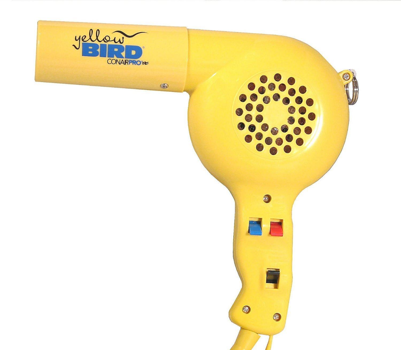 Conair Pro Yellowbird 1875-Watt Professional Hair Dryer, YB075W