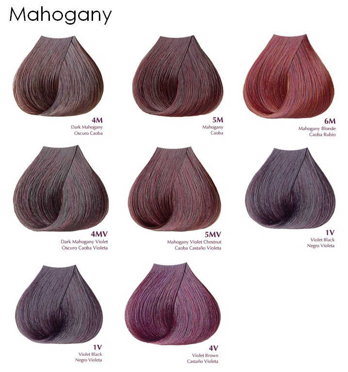 Satin Mahogany Series Aloe Vera Based Hair Color - 3oz - VelvetBlush