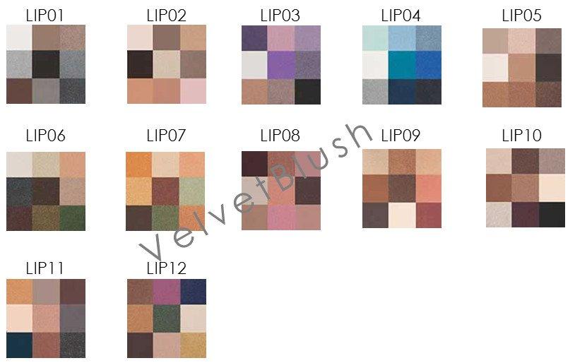 NYX Love in Paris Eye Shadow Palette - Choose Your Favorite 6 - VelvetBlush
