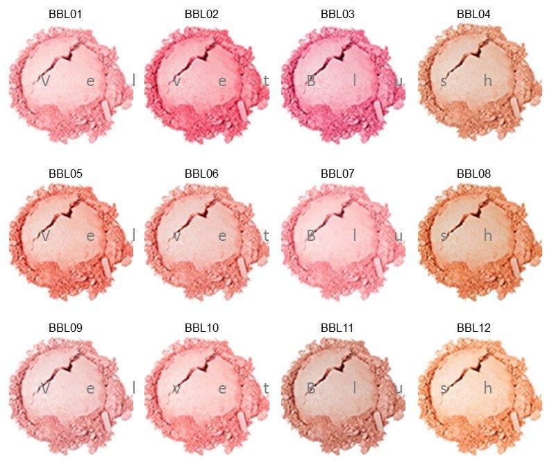 NYX Baked Blush - Choose Your Favorite 6 Colors - BBL - VelvetBlush