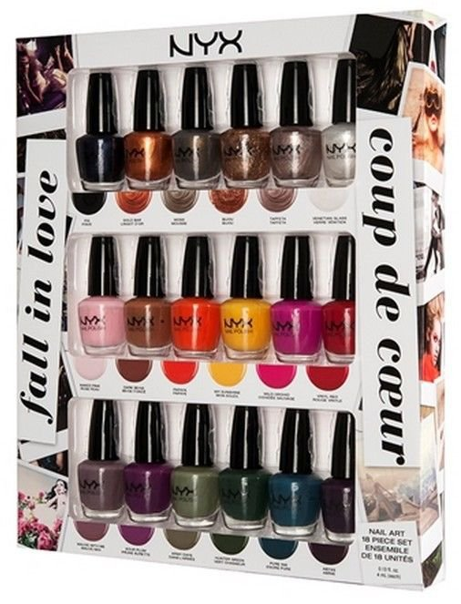 NYX Fall in Love Nail Art Collection - Nail Polish Set NPSET05 - VelvetBlush