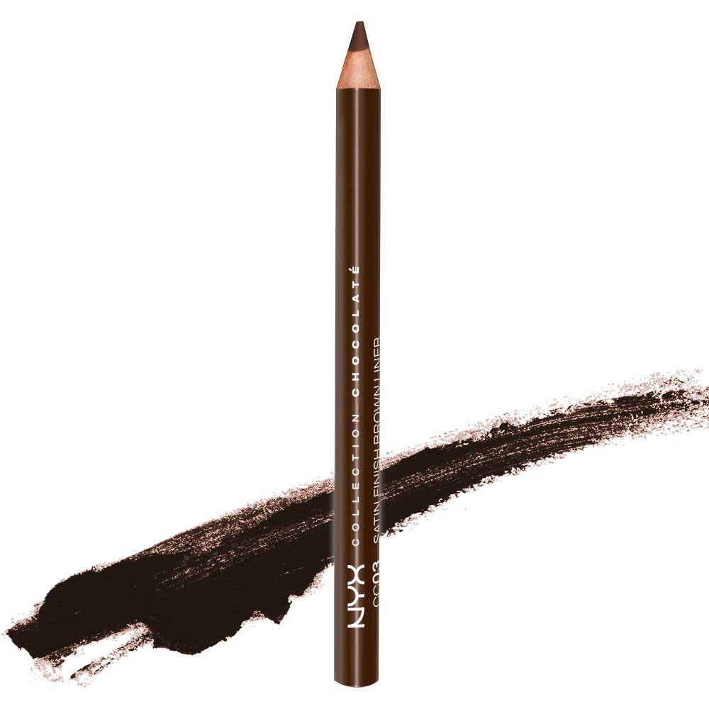 1 NYX Collection Chocolate Satin Finish Brown Liner (CC03) - VelvetBlush
