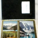 VINTAGE Congress Playing Cards ~ Mountain Scenes