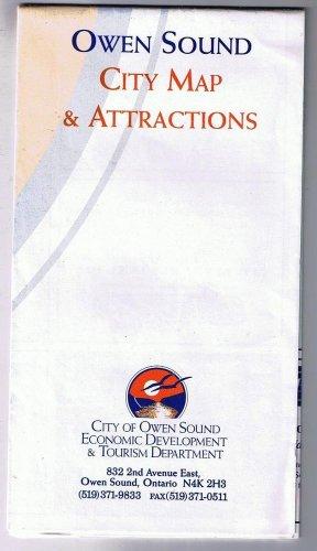 Ontario Owen Sound City Map & Attractions