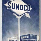 Sunoco Oil Eastern United States Road Map 1964-65