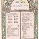 The Rosary Sheet Music Ethelbert Nevin