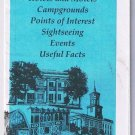 Nashville Street  Map & Pocket Guide American Airlines 1989