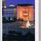 Atlanta Street  Map & Visitors Guide Delta Airlines 1991 Coca Cola