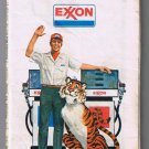 Western United States Exxon Road Map 1977