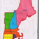 New England Innkeepers  Map 1986