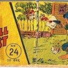VINTAGE Norwegian Comic Book Vill Vest Number 24 Norway 1957