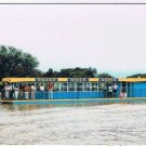 Caledonia Ontario Postcard Grand River Queen River Boat