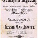 Teach Me To Pray Sheet Music George Graff Jessie Mae Jewitt