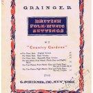 Country Gardens Sheet Music British Folk Music