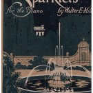 Sparklets for the Piano Sheet Music Walter Miles