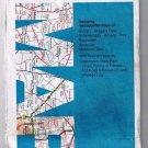 New York Rand McNally Road Map 1986