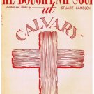He Bought My Soul At Calvary Sheet Music Edvard Grieg Stuart Hamblen