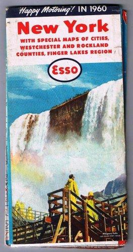 New York Esso Road Map 1960