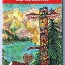 British Columbia & Alberta Esso Road Map 1958