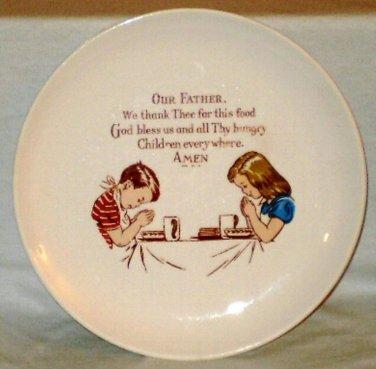 Taylor Smith Taylor Versatile Child's Prayer Plate