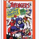 1990 Marvel Comics Picture Card #136 Avengers #4