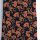 Longobardi Neck Tie Black Brown Western Horse Heads Saddles Made in Italy