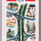 Esso Eastern United States Road Map 1968 Humble Oil