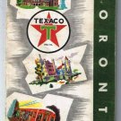 Toronto Texaco Road Map 1959
