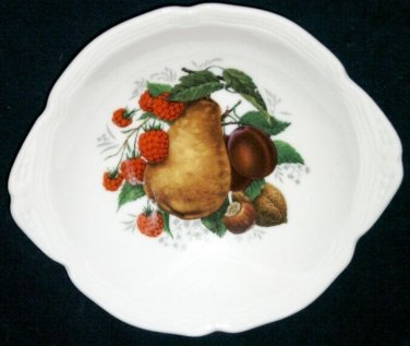 "Limoges Fruit Pin Tray Butter Pat 4 3/4"""