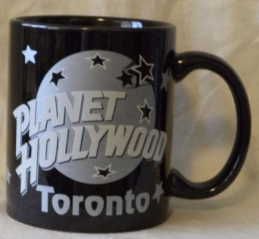Planet Hollywood Collectable Mug Toronto 1991 Black