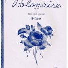 Theme from Polonaise Sheet Music Frederic Chopin For Piano