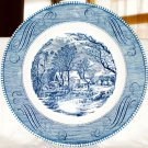 Currier & Ives Collector Plate The Old Grist Mill Royal