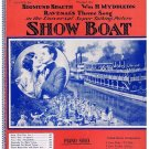 Down South from Showboat Sheet Music Ravenal's Theme Song Spaeth Myddleton