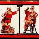 Coca Cola Nostalgia Playing Cards (2 Packs) Decorative Tin Santa Claus 1994