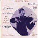 Intermezzo A Love Story Movie Sheet Music Movie Leslie Howard Ingrid Bergman