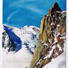 Mont Blanc France Postcard Chamonix Cablecars to Blanche Valley