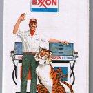Indiana Michigan Exxon Road Map 1974