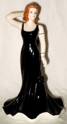 "Coalport Heart to Heart Figurine Wishing You Luck Hand Decorated 5 1/2"" 2007"