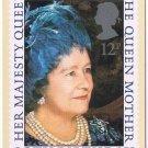 Royalty Postcard Her Majesty Queen Elizabeth Queen Mother 80th Birthday Stamp